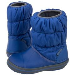 Śniegowce Crocs Winter Puff Boot Kids Cerulean Blue 14613-4BH (CR61-c), 14613-4BH