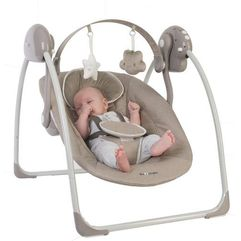 huśtawka b-portable swing taupe marki Bo jungle