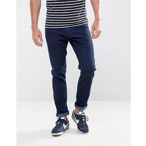 Ldn dnm slim fit jeans in washed blue rinse - blue