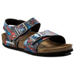 Sandały - new york kids bs 1004375 spiderman action blue marki Birkenstock