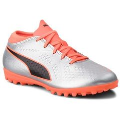 Puma Buty - one 4 syn tt jr 104785 01 silver/orange/black