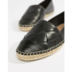 leather espadrilles - black, Aldo