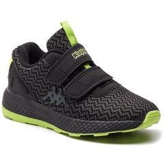 Kappa Sneakersy - result ii knt k 260650k black/lime 1133