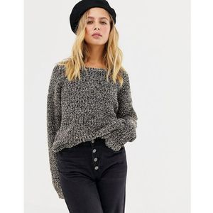 Brave Soul Tinsel Jumper - Gold