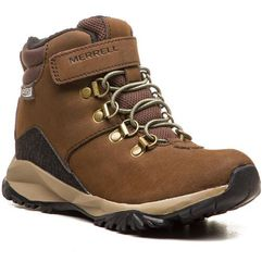 Merrell Trzewiki - alpine wtrpf mc56270 brown