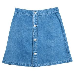 Santa cruz Spódnica - screaming hand skirt light denim (light denim)