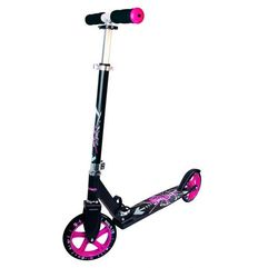 Authentic sports hulajnoga aluminium scooter muuwmi stg 205 mm, czarno-różowy (4260341181653)