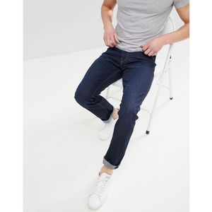 straight fit blue jean in organic cotton - blue, Esprit
