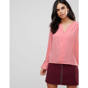 Traffic People Flute Sleeve Top - Pink, kolor różowy