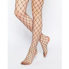 ASOS Oversized Fishnet Tights - Black