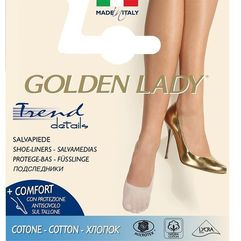 Golden lady Baletki 6n cotton 35-38, beżowy/natural. golden lady, 35-38, 39-42