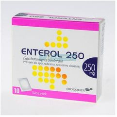Dobra marka - Enterol 250 prosz.do sp.zaw.doust. 0,25 g 10 sasz. (5909990748518)