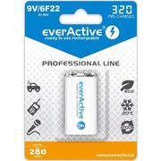 Akumulatorek 6f22/9v ni-mh 320 mah ready to use marki Everactive
