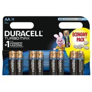 Duracell Baterie turbo max aa 8szt.
