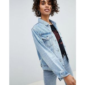 Cheap Monday Denim Boyfriend Trucker Jacket - Blue, w 2 rozmiarach