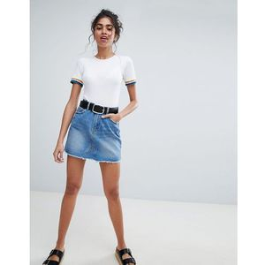 mini denim skirt - blue marki Pimkie