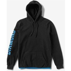 Bluza - diamond polar fleece hoodie black (blk) marki Diamond