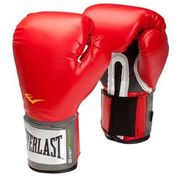 Everlast 14oz Red - Pro Style Boxing Gloves (5050787201584)