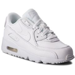 Buty NIKE - Air Max 90 Ltr (PS) 833414 100 White/White