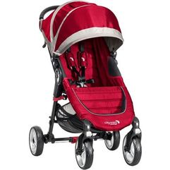 city mini 4 koła, crimson/gray marki Baby jogger