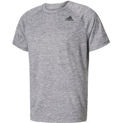 Adidas D2M Tee Ht Medium Grey Heather M, kolor szary