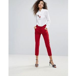 tailored trouser - red, Unique21