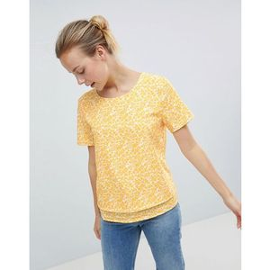 noise print top - yellow, Ichi, 38-40