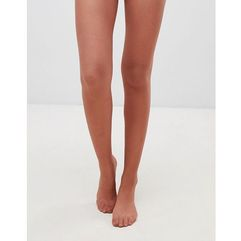 Asos design 15 denier nude tights in chestnut - brown