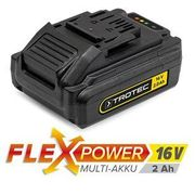 Zapasowy akumulator Flexpower 16V 2,0 Ah (4052138017265)