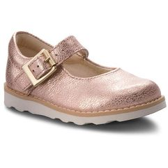 Clarks Półbuty - crown honor 261359026 copper leather