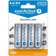 Everactive 4x akumulatorki r6/aa ni-mh 2000 mah ready to use