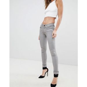 Replay luz zip pocket skinny jeans - beige