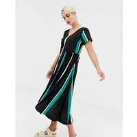 2nd day 2ndday nicole fade printed dress with frill detail - multi