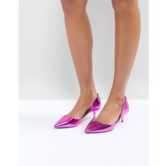 ALDO Adylia Kitten Heel Pointed Shoe in Pink - Pink