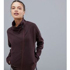 training jacket in burgundy - red marki Adidas