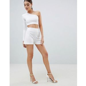 tailored shorts - white, Club l