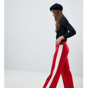 Mink Pink Varsity Wide Leg Trackpant - Red