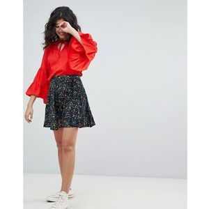skater skirt with tapestry print - multi marki Weekday