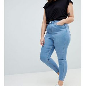 New Look Curve Super Soft Skinny Jegging - Blue