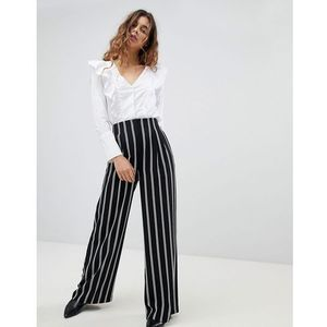 Miss Selfridge Wide Leg Stripe Trousers - Multi