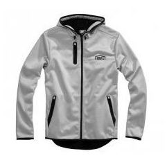 100 PROCENT KURTKA SOFTSHELL Z KAPT. MISSION GREY