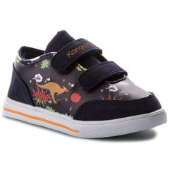 Buty - baby flash v 02017 000 4090 navy/comic marki Kangaroos