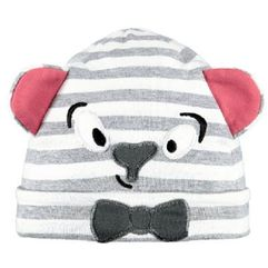 Barts Czapka Leelo Beanie heather grey - Gr.45 cm, kolor szary