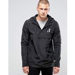 lightweight overhead jacket - black marki 11 degrees