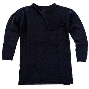 Ichi Sweter - merci knitted cardigan total eclipse (14044) rozmiar: s