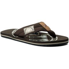 Japonki TOMMY HILFIGER - Essential Th Beach Sandal FM0FM01369 Coffee Bean 212