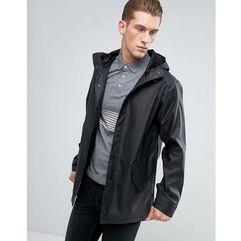 shower resistant rain coat in black - black, Asos, XXS-L