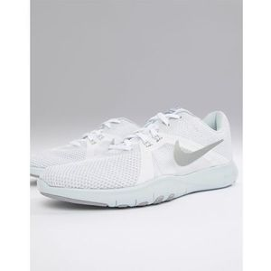 flex trainers in white - white marki Nike training
