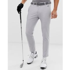Adidas Golf Ultimate 365 3-stripe tapered trousers in grey - Grey, kolor szary