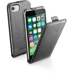Cellular Line Etui FLAP ESSENTIAL do iPhone 7 (CFLAPESSIPH747K) Darmowy odbiór w 20 miastach!, kolor Cellular